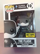 Funko Pop DC Heroes #10 Black & White The Flash Hot Topic Black Friday Exclusive