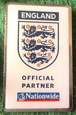Official England 3 Lions Nationwide Sponsor Pin Badge