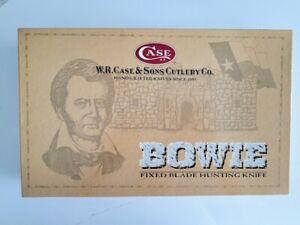 """NIB New in Box Case XX 14"""" Bowie Knife and Sheath 00286"""