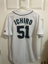 Ichiro Suzuki #51 Seattle Mariners SizeM CoolBase Player Collection Jersey White