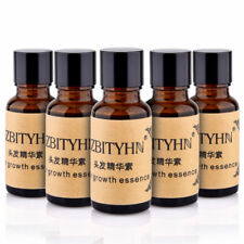5 Bottles Natural Extract Herbal Hair Fast Growth Essence Hair Loss Treatment US