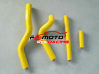 For Suzuki RM125 RM 125 2001-2008 2002 03 04 05 06 silicone radiator hose Yellow