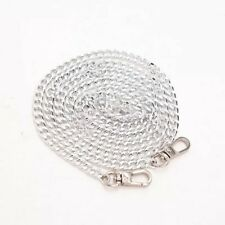 AUS SELLER 100CM Silver chain Strap Replace Bag Crossbody Pochette Replacement