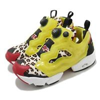 Reebok Instapump Fury Atmos Citron Animal Yellow Leopard Men Casual Shoes FZ4432