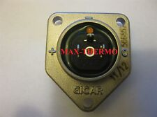 NEW GICAR 566857 nickel-plated brass with LED for flow meter casing cover