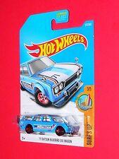 2017 Hot Wheels  '71 Datsun Bluebird 510 Wagon #277 FBD29-D9B0N N case Surf's Up