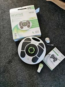 REVITIVE MEDIC CIRCULATION BOOSTER IN BOX & REMOTE,CHARGER,MANUAL