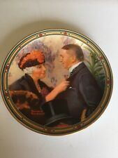 "Knowles Fine China Plate-Norman Rockwell Museum-""Loves Reward"" Authenticated #Ed"