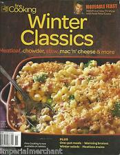 Fine Cooking Winter Classics magazine Meatloaf Chowder Stew Meals Salads Braises