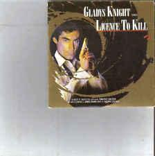 Gladys Knight-Licence To Kill 3 inch cd maxi single