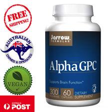 Jarrow Formulas Alpha GPC 300 300 mg 60 Vegan Caps Protects Brain Function