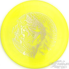 New Yellow Icon Enemy Driver 169g Legacy Disc Golf First Run Evil Stamp Fast
