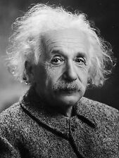 Albert Einstein Scientist & Genius Black & White Vintage Photo Art Print Picture