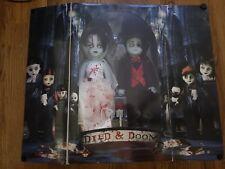 Mezco living dead dolls died and doom Resurrection IV unopened horror LDD