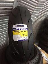1 x 190/50 ZR17 Michelin Pilot Power M/C-TL 73W Motorbike Rear 1905017- ONE TYRE
