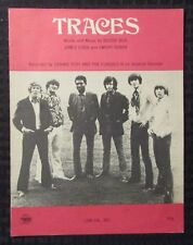 1969 TRACES Sheet Music FN 6.0 Dennis Yost & The Classics IV 4pgs