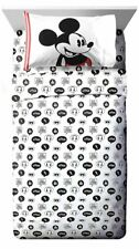 Disney Mickey Mouse Jersey Twin Sheet Set | Kids Bedding