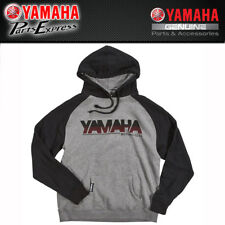 NEW 2X-LARGE GENUINE YAMAHA MEN'S HIGH REV HOODED FLEECE CRP-17FHR-GY-2X