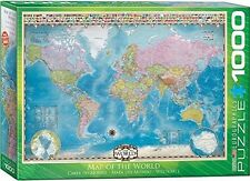 Unbranded Maps Jigsaw Puzzles