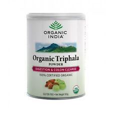 Triphala Powder 100 Gram Organic India Amalaki  Bibhitaki Haritaki