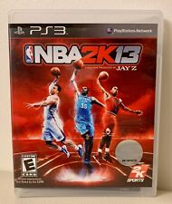 NBA 2K13 (Sony PlayStation 3, 2012) PS3 Game Complete With Manual