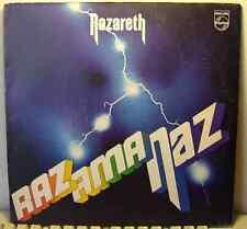 UK Hard Rock Psych LP by NAZARETH Razamanaz 1973 Philips German Press