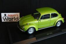Norev Volkswagen ( VW ) Beetle 1303 1972 1:18 green metallic