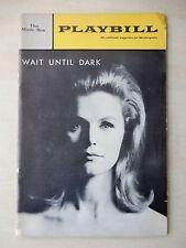 December 1966 - The Music Box Theatre - Wait Until Dark - Lee Remick