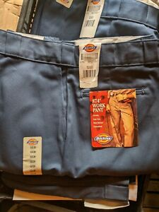 Navy Blue Dickies work pants W52 X L30 New with Tags