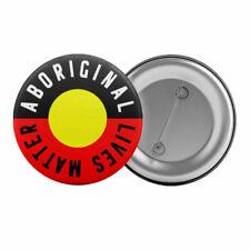 Aboriginal Lives Matter Pin Badge Black Lives Matter Protest Button