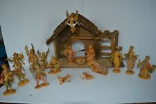 Roman  Fontanini Wedding Crèche Christmas Nativity Holy Family Set Stable Lot