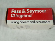 Pass & Seymour 691 Switch Receptacle, Brown 15A 120V 1 Pole ! NEW !