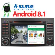 "7""Autoradio Android 8.1 Mercedes Benz A/B Klasse GPS DVD Sprinter Viano Crafter"