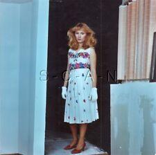 Org Amateur Semi Nude Large (8 x 8) Photo- Funhouse- Woman- Skirt- Gloves- #2