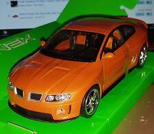 WELLY NEX MODELS MINIATURE PONTIAC GTO RAM AIR6 2005 DIECAST SCALE 1:24 NEW OVP