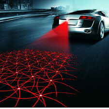 Laser Rouge Brouillard Feu Arrière Auto Voiture Lampe avertie Anti-Collision
