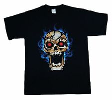 Halloween VAMPIRE SKULL Rebel Scary - Medium - T SHIRT Brand NEW Nice