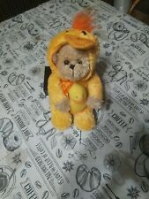 Plush Toys Stuffed Bear In Duck Costume, Easter Bear ???