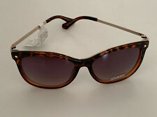 NEW! GUESS TORTOISE BROWN GOLD FRAME SUNGLASSES SHADES SUNNIES SALE