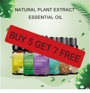 Essential Oils Aromatherapy 100% Pure Organic Fragrances 10ml 80 scents L@@K