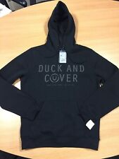 Mens Black Duck And Cover Krooksure Hoodie, Size L, BNWT,