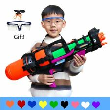 "24"" Jumbo Blaster Water Gun With Straps Goggles Kids Beach Squirt Toy Boys Favor"
