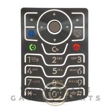 Keypad for Motorola V3xx RAZR Silver Key Pad Keyboard Buttons Type Press