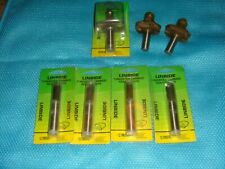 New listing 7 Linbide Brand Tungsten Carbide Router Bits - Most Brand New - Free Shipping