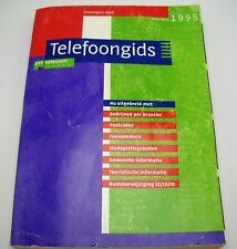 Netherlands Dutch Telephone Book Groningen Vintage 1995, Telefoongids PTT
