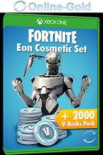Xbox One Fortnite Eon Cosmetic Set + 2200 V-Bucks - Digital Download Code DE/EU