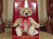 2012 Steiff Fao Schwarz 150th Anniversary Caramel Bear 9 1/2 in. #681554 MIB