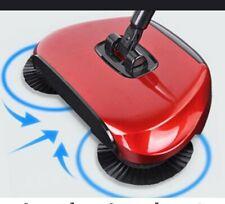 SCOPA ROTANTE 360° mop manuale spazza RACCOGLIE polvere per PAVIMENTO PARQUET