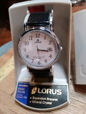 "Vintage Rare 1980s Lorus by Seiko quartz ""CLASSIC"" mens watch ""NEW OLD STOCK"""
