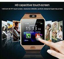 ROSE oro Reloj inteligente reloj teléfono móvil más reciente DZ09 Bluetooth Android Reino Unido Stock